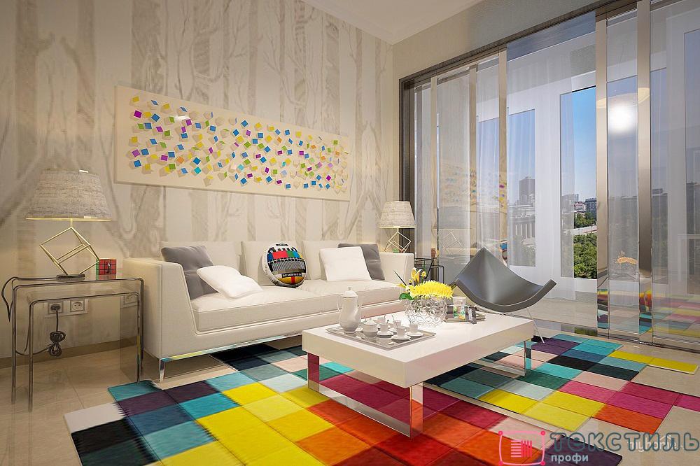 Как выбрать ковер в гостиную и столовую? Несколько советов для оформления зала