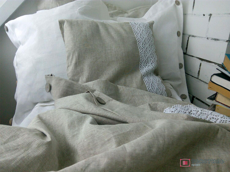 Лен в домашнем текстиле: льняное постельное белье и покрывала