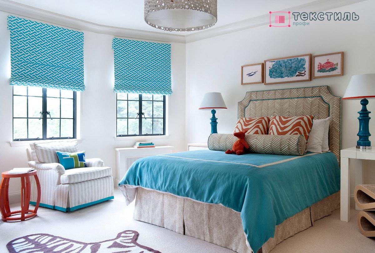 Создать вдохновляющий интерьер с помощью покрывала в морском стиле