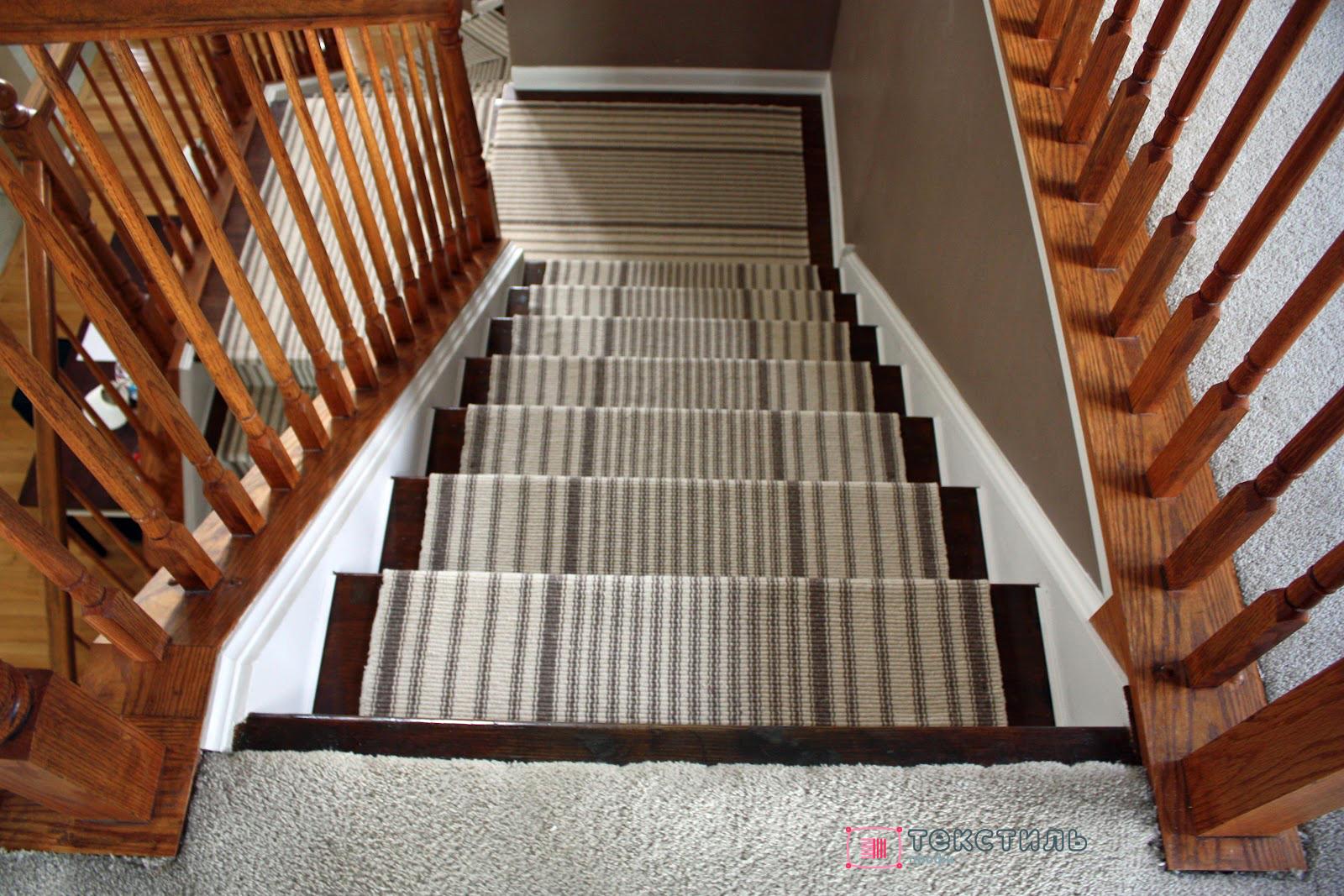 Какое ковровое покрытие подойдет для лестницы?