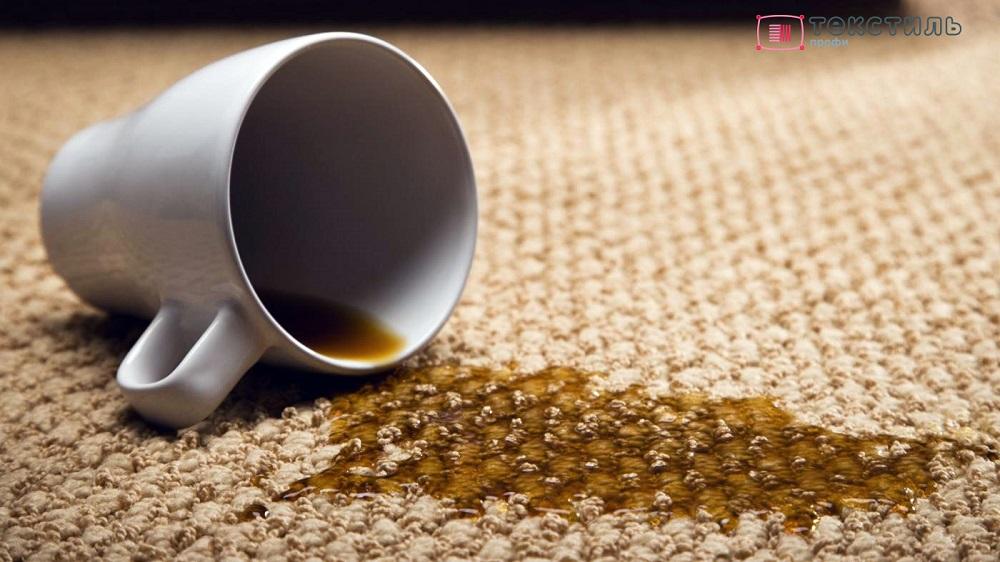 Пятна на ковре «возрождаются»? Причины