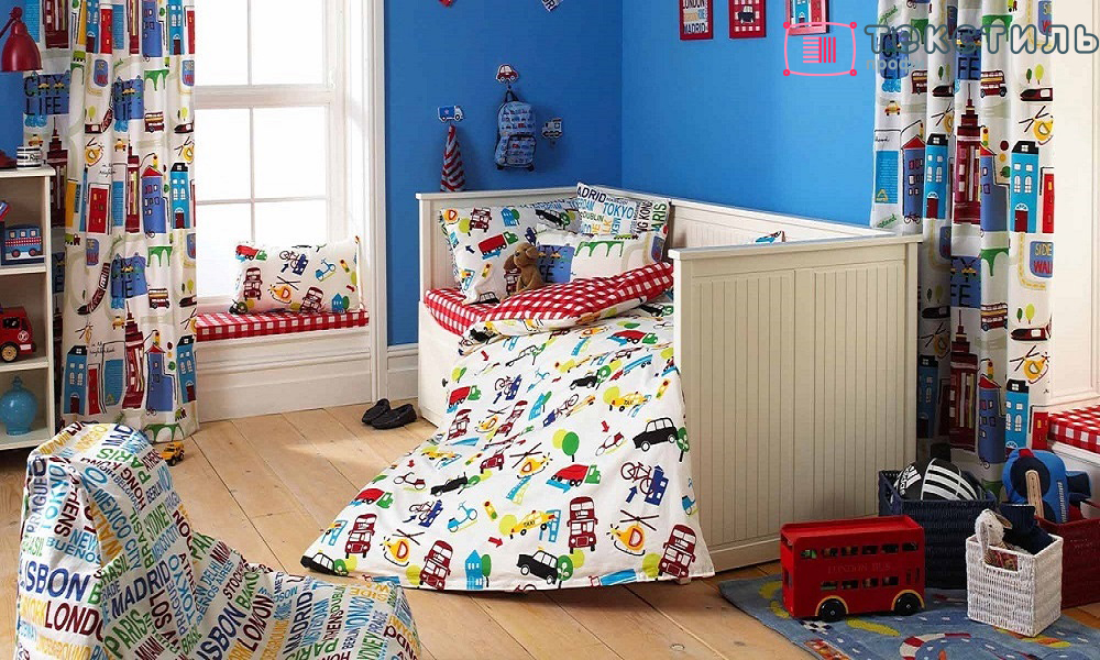 Постельное белье для мальчика: идеи для воплощения
