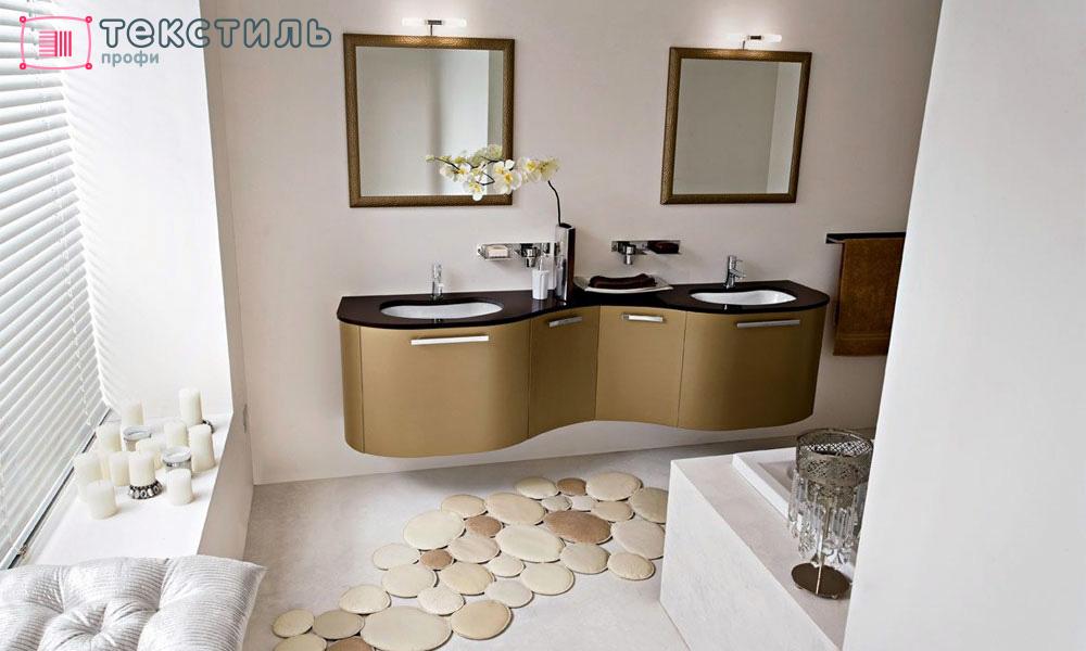 Какую форму ковра для ванной выбрать?