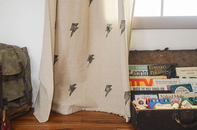 Набойка по ткани: мастер-класс по использованию в интерьере