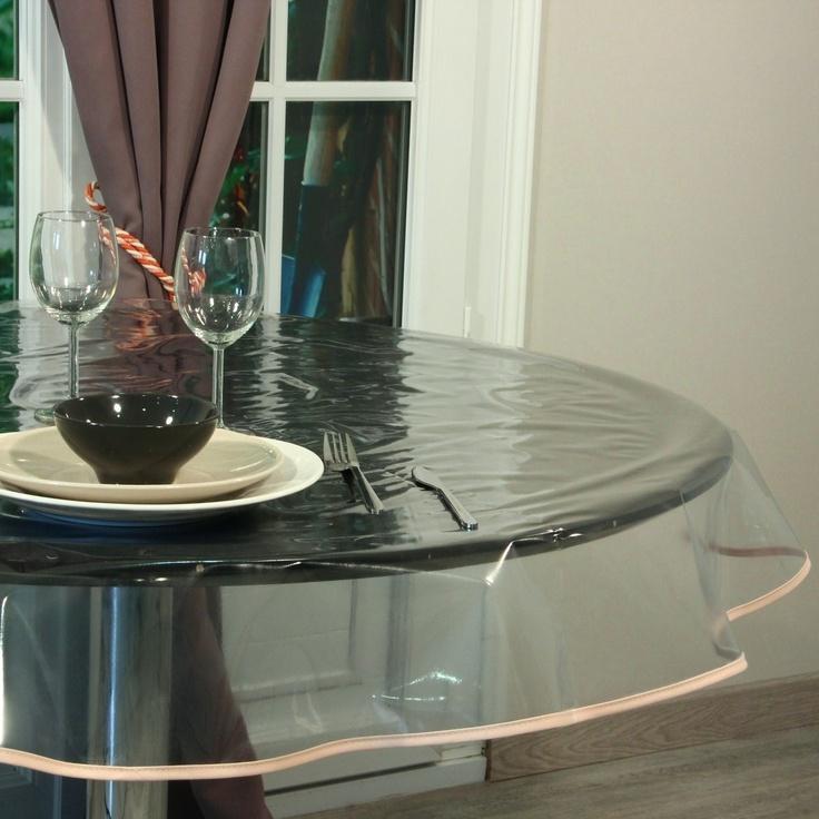 Прозрачные скатерти на кухонный стол: виды материалы и рекомендации по выбору