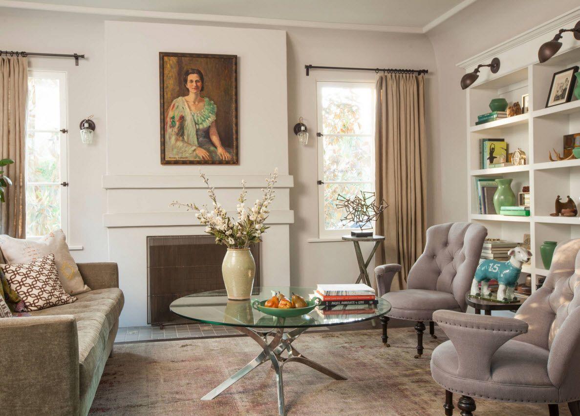 современные шторы для гостиной