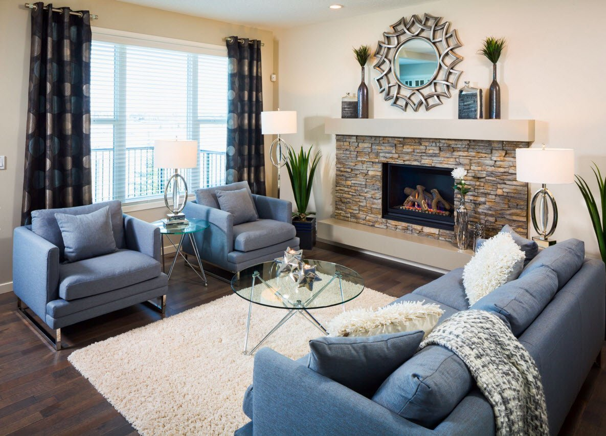 Подобрать современные шторы для гостиной — практические советы