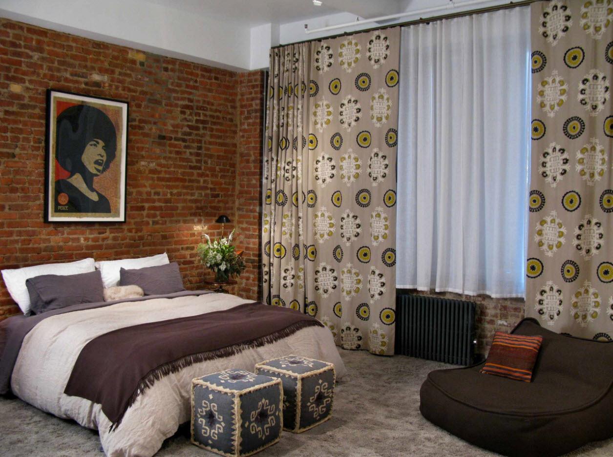 Шторы для спальни: тенденции в дизайне 2017 года