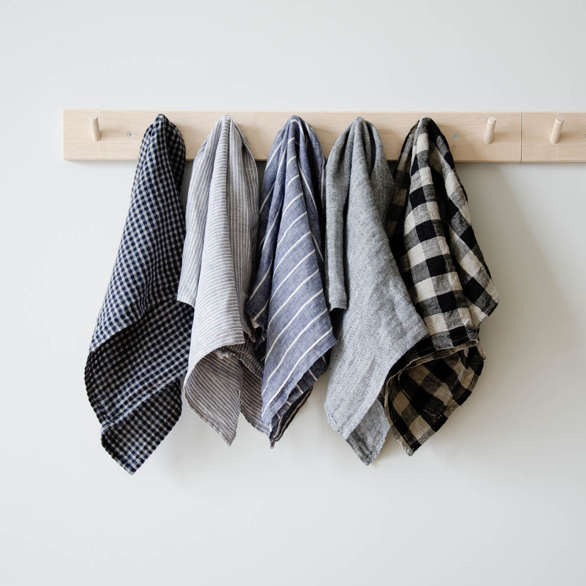 Льняное полотенце для кухни: делаем правильный выбор