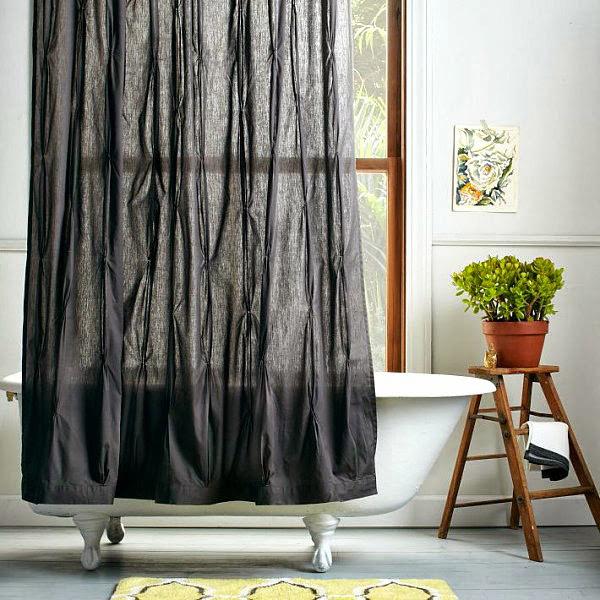 Можно ли вешать обычные тюль и занавески в ванную?