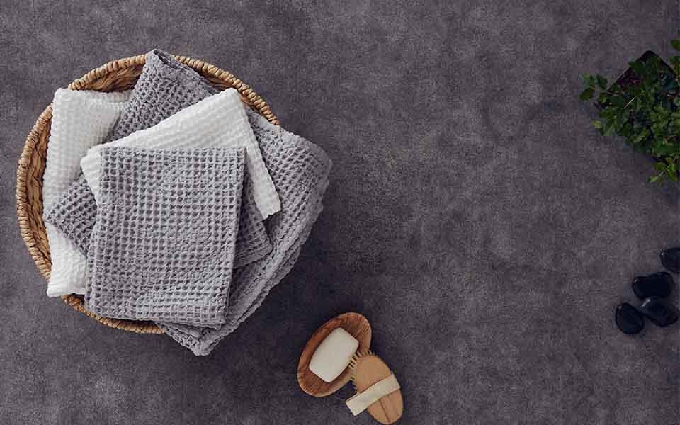 мочалки полотенца