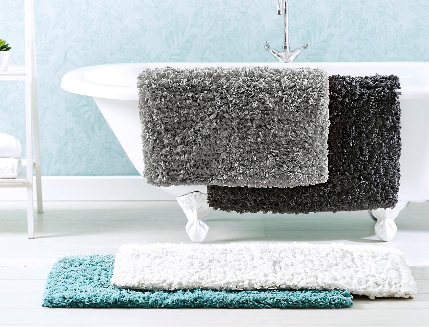 ворсовые коврики для ванной