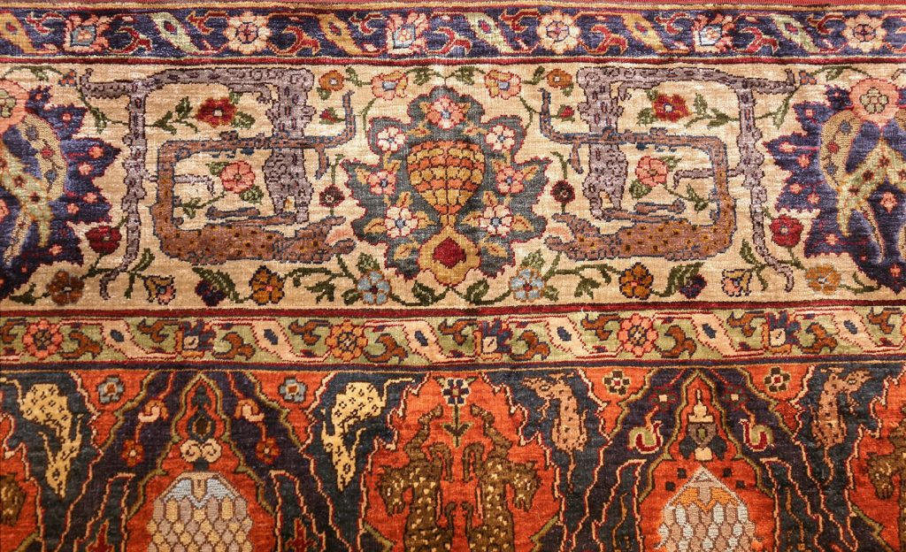антикварный турецкий ковер