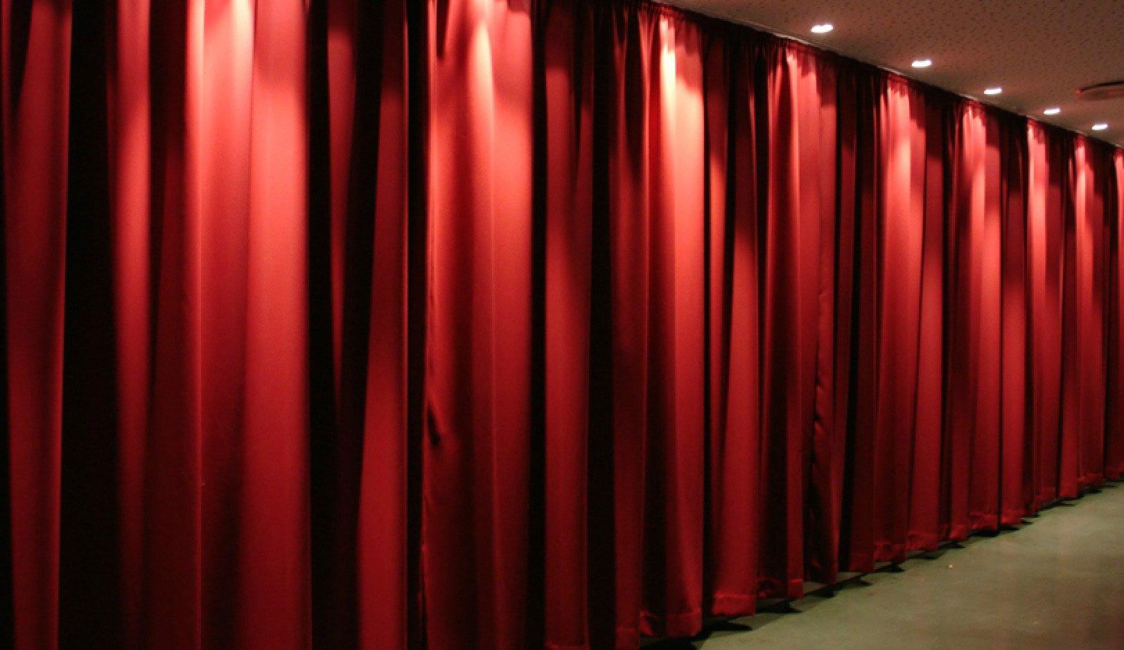 акустические шторы в зал