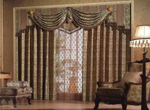 роскошные шторы с ламбрекенами