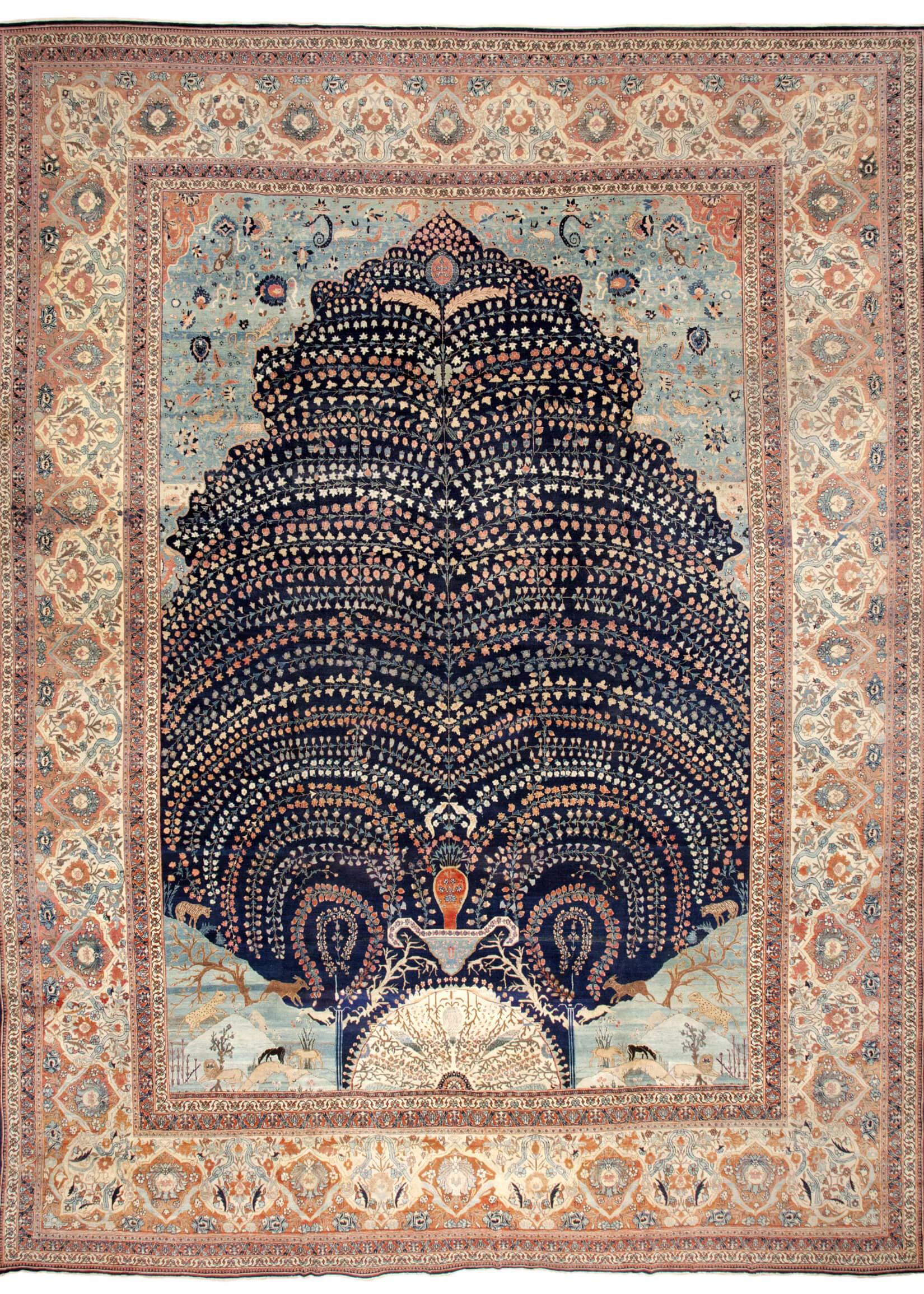 Персидский ковер ручной работы: как подготовиться к покупке