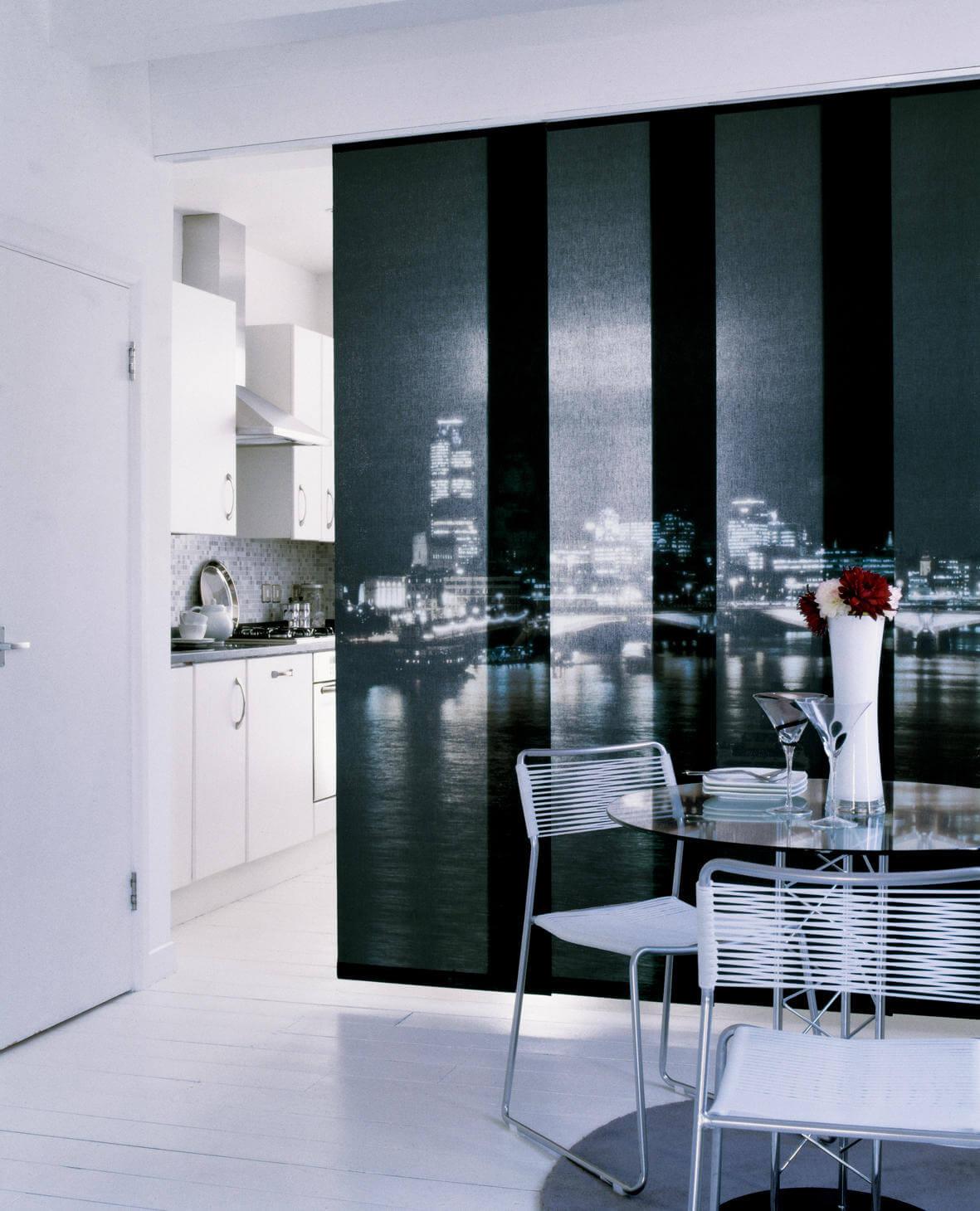 штора-панель на кухню