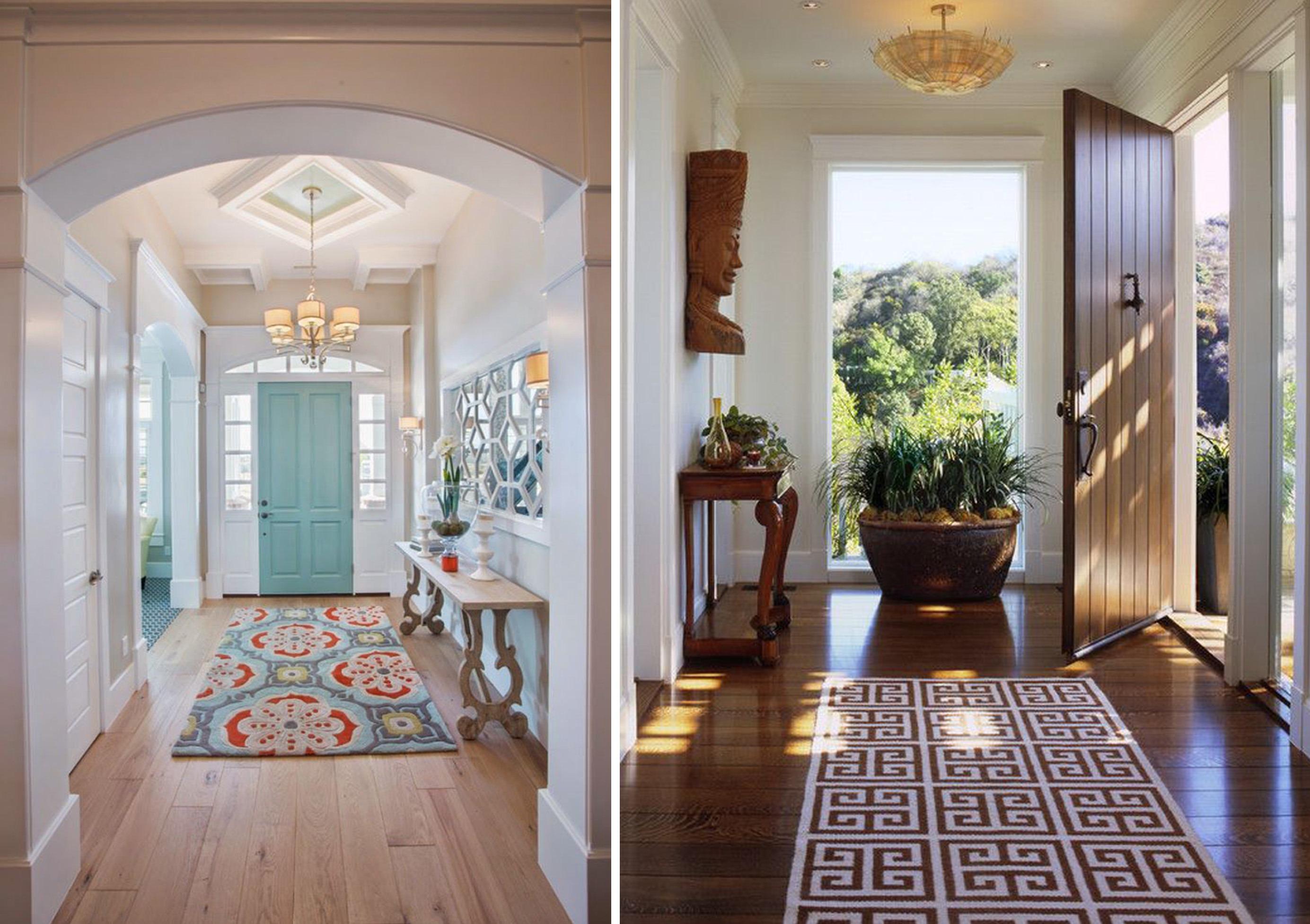 Интерьеры с коврами на полу: от ванной до детской