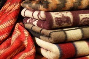 стирка шерстяного одеяла