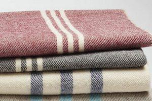 шерстяное советское одеяло