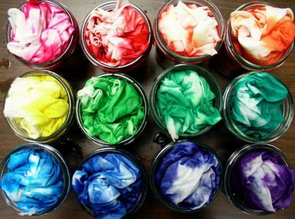 природные краски для ткани