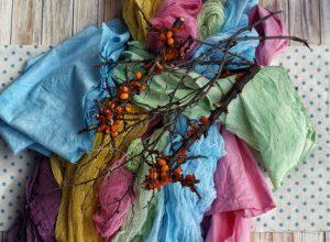 краска ткани в домашних условиях