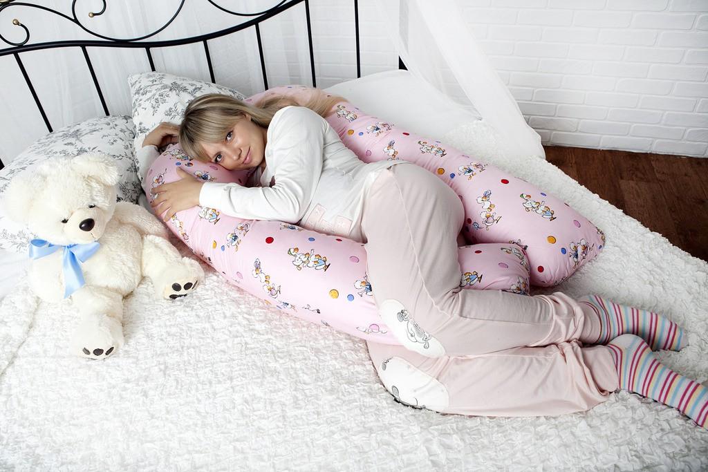 подушка холлофайбер для сна