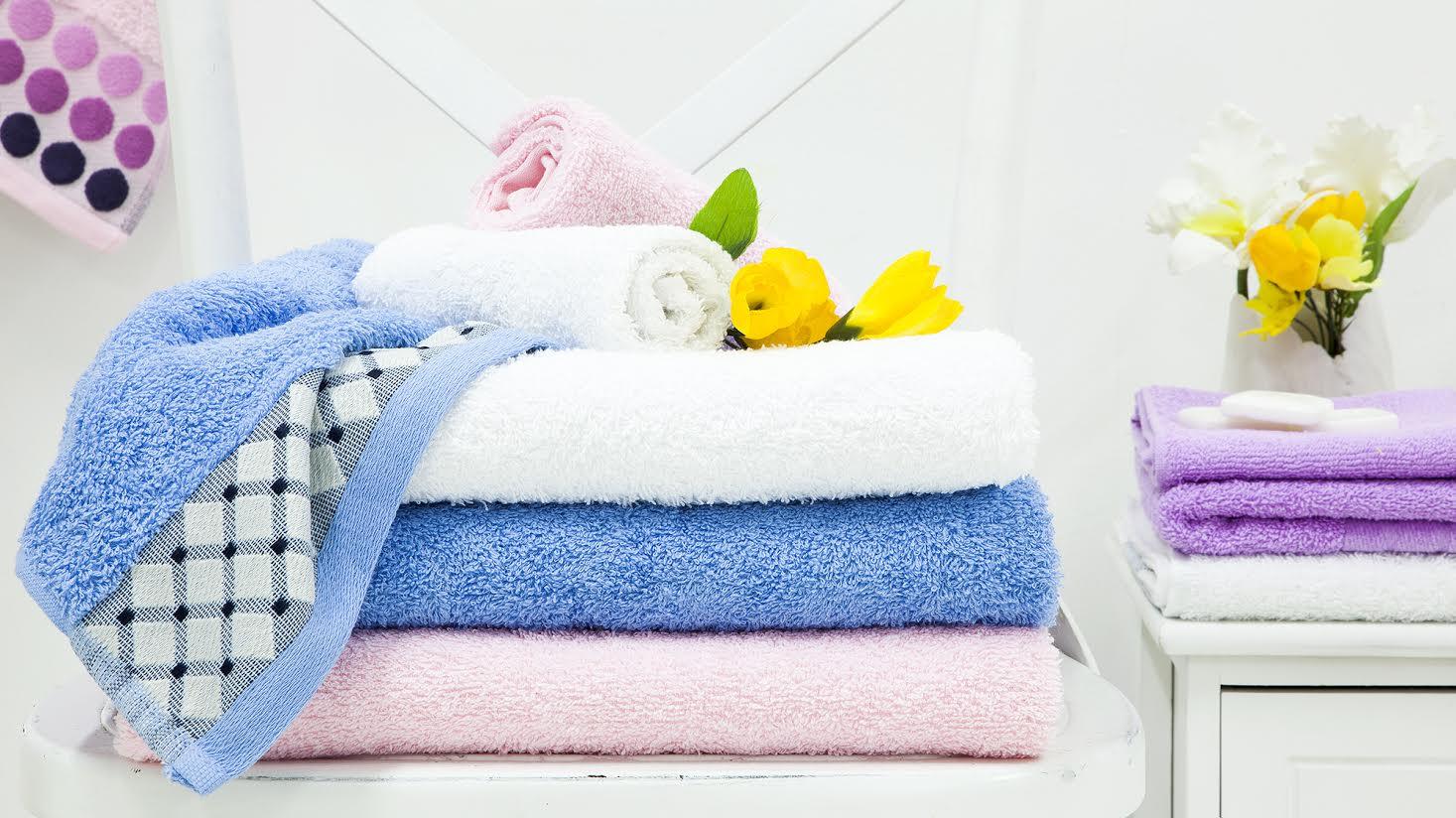 полотенца для ванны в доме