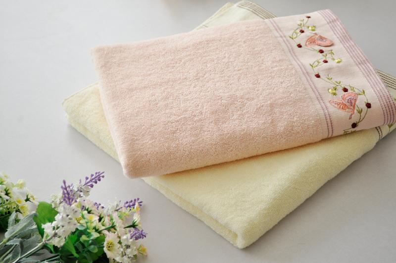 полотенца из хлопка в ванну