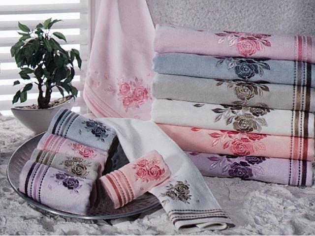 велюровые полотенца для рук