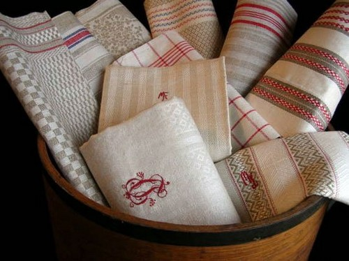 льняное полотенце для рук