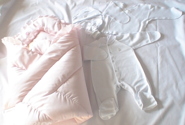 пуховое одеяло для малыша