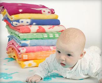 шерстяное одеяло для ребенка