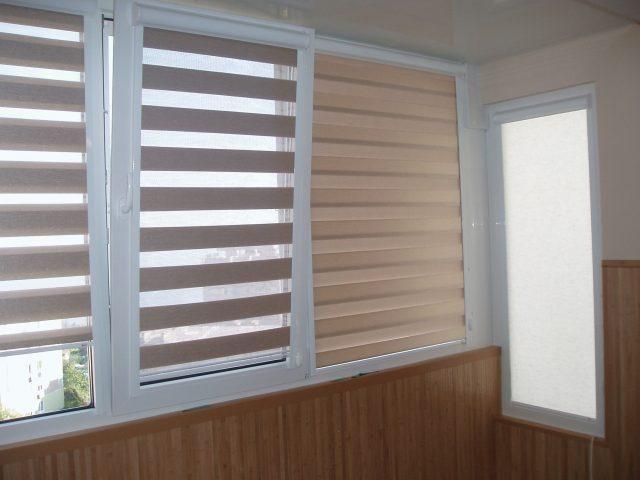 жалюзи на окнах в доме