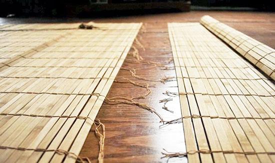 изготовление бамбуковых штор