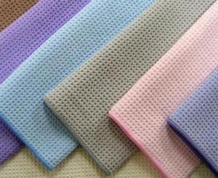 вафельные полотенца разных цветов