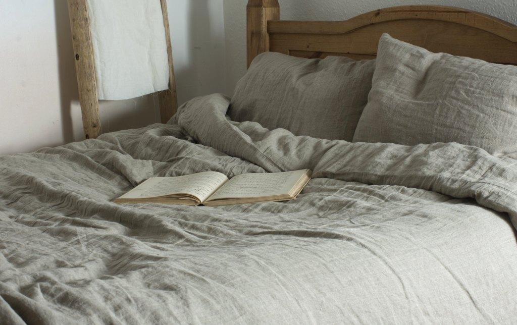 лен постельное белье