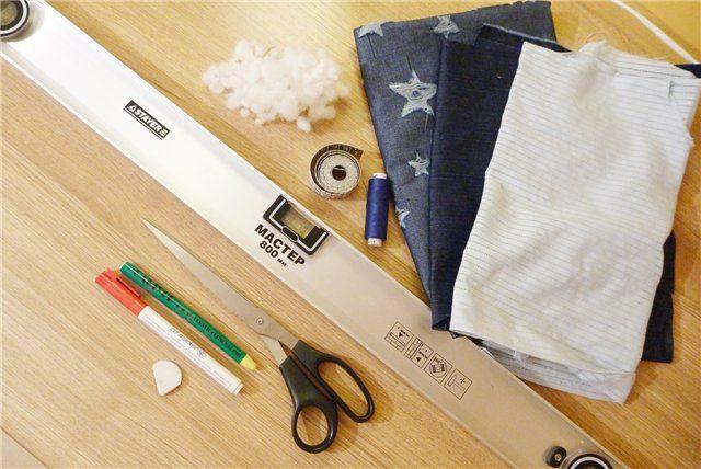 материалы для буферов на шторах