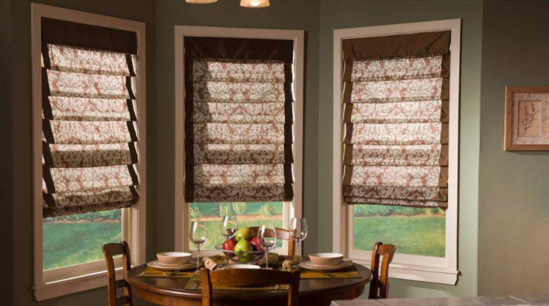 красивые римские шторы