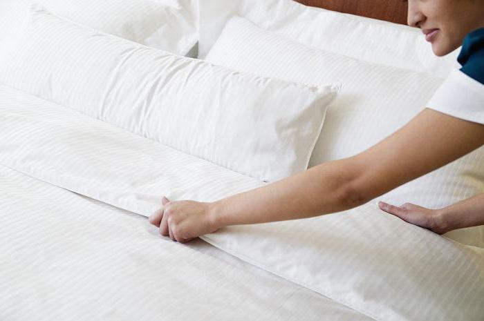 быстро заправить кровать