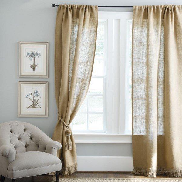 На что повесить шторы и занавески разных видов: как правильно вешать шторы?
