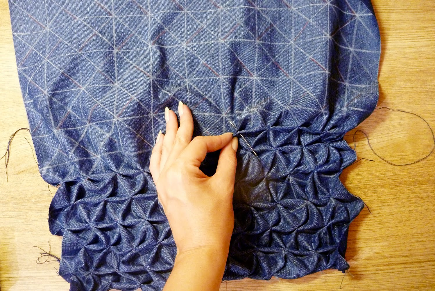 основные этапы пошива буфов