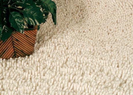 длинный ворс в ковре