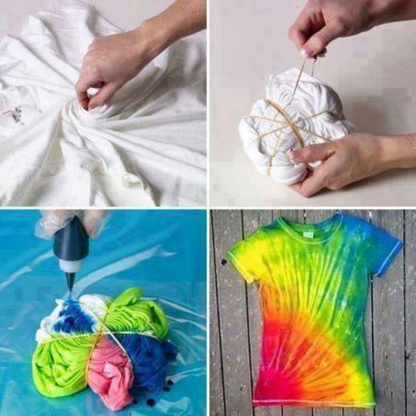 Как покрасить ткань дома: даем несколько советов