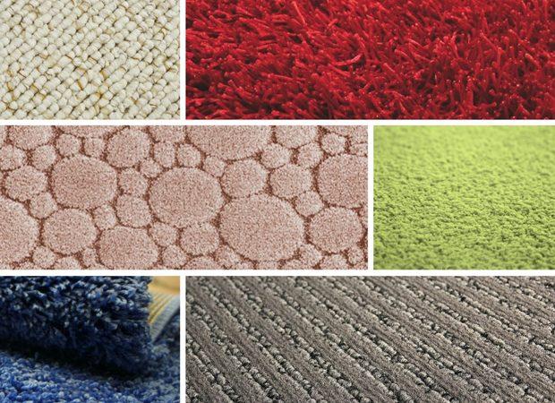 текстура современных ковров