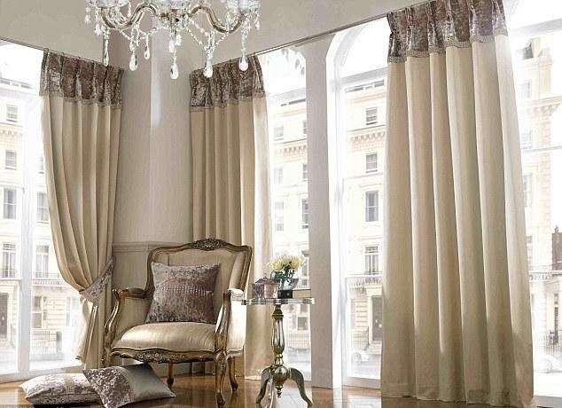 красивые шторы в интерьере