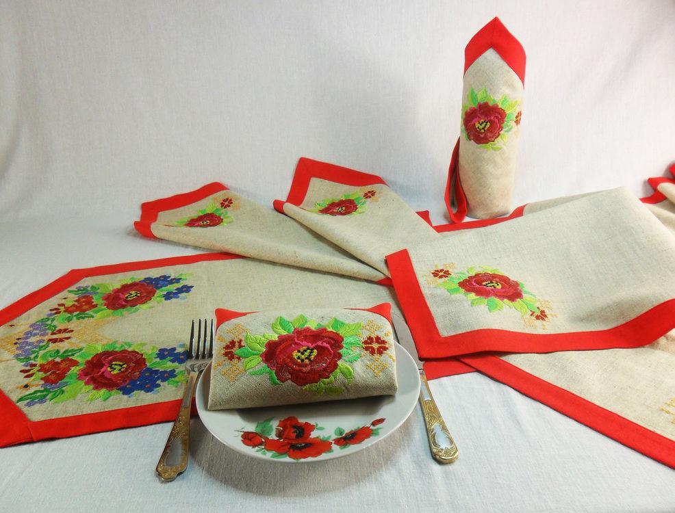 сервировочные салфетки на стол