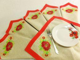 красивые салфетки для кухни