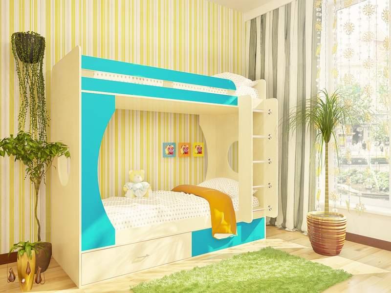 классические шторы в детскую