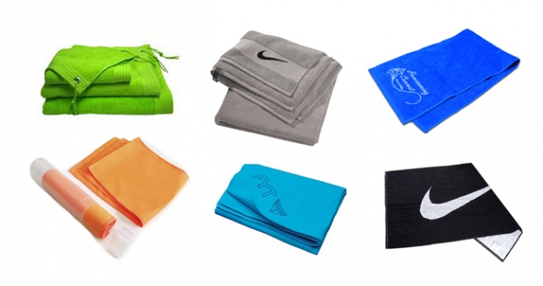различные виды полотенец для тренировки